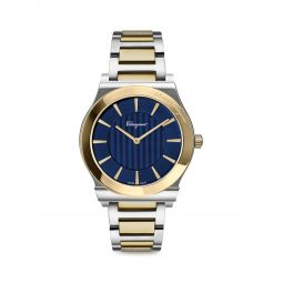 1898 Slim Two-Tone Stainless Steel Bracelet Watch
