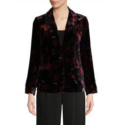 Mikki Velvet Shawl Collar Jacket