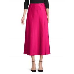 Side-Zip Midi Skirt