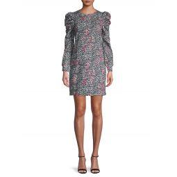 Floral-Print Cotton-Blend Sheath Dress