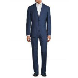 Super 140 Johnstons/Lenon Regular-Fit Virgin Wool Suit