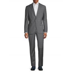 Super 120 Johnston/Leno Regular-Fit Virgin Wool Suit
