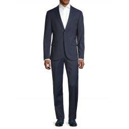Travel Neight Regular-Fit Stretch Virgin-Wool Suit