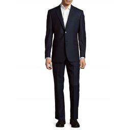 Slim-Fit Tonal Stripe Wool Suit