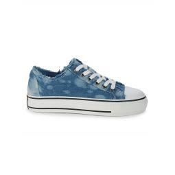 Viki Fringed Sneakers