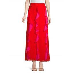Salona Ruffle Maxi Skirt