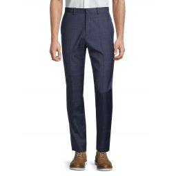 Jake W Windowpane Plaid Pants