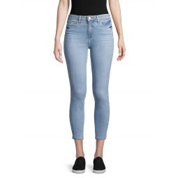 Margot High-Rise Crop Skinny Jeans