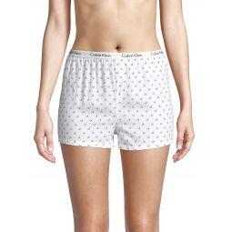 2-Pack Logo-Print Boxer Shorts