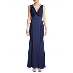 Kimmy Colorblock Cutout Mermaid Gown