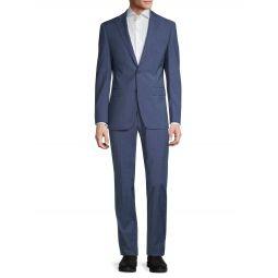 Slim-Fit Wool-Blend Suit