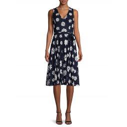 Moody Floral-Print Dress