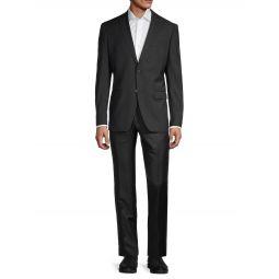 Standard-Fit Wool-Blend Suit
