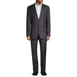 Standard-Fit Wool Suit