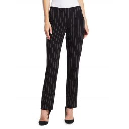 Simone Pinstriped Wool Pants