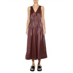 Liquid Drape Shirred Culotte Jumpsuit