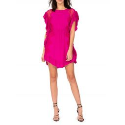 Zestful Ruffle Mini Dress