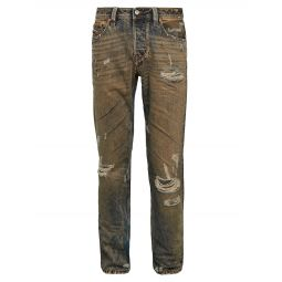 Larkee Beex Distressed Straight Jeans