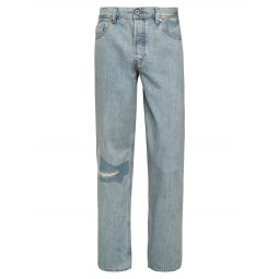Dagh Distressed Straight Jeans