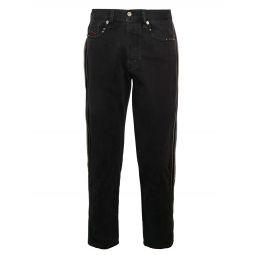 Mharky Slim-Fit Side Zip Jeans