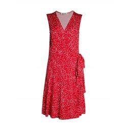 Jasmine Floral Wrap Dress