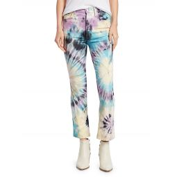 The Tripper Tie-Dye Bootcut Cropped Jeans