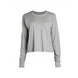 The Cropped Long-Sleeve T-Shirt