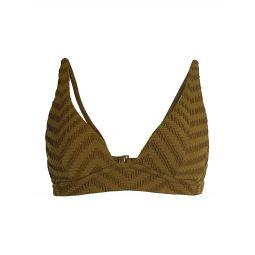 Slim Plunge Bikini Top
