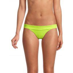 Veronica Rib-Knit Bikini Bottom