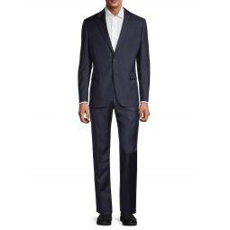 Modern-Fit Wool Suit