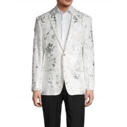 Metallic Floral Dinner Jacket