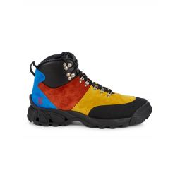 Colorblock Suede Hiking Boots