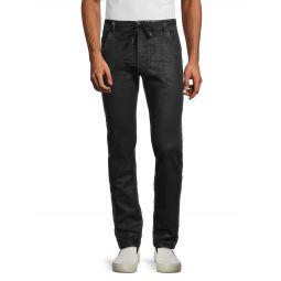 Skinny Drawstring Jeans