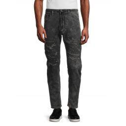 Narrot Sweat Slim Straight Jeans