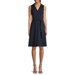 Sleeveless Scuba Dress