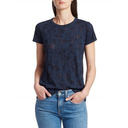 All Over Poppy Print Graphic Tee