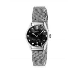 G-Timeless Mesh Strap Watch