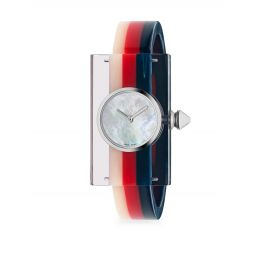 Striped Plexiglas Watch