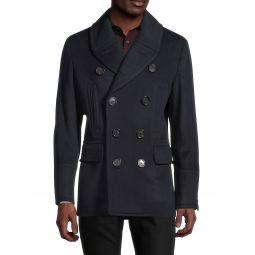 Norton Wool & Cashmere Pea Coat
