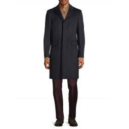 Hawksley Wool & Cashmere Top Coat