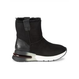 Leather, Suede & Shearling As-Kyoto Ankle Boots