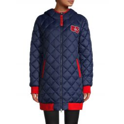 Contrast Quilted Jacket