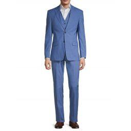 Vassar Standard Fit Wool-Blend Suit