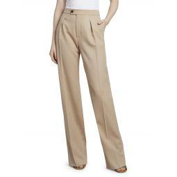 Stretch Wool Pants