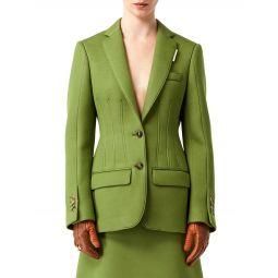 Neoprene Tailored Blazer