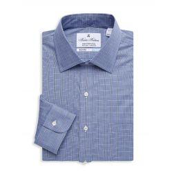 Regent-Fit Plaid Dress Shirt
