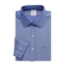 Regent-Fit Print Dress Shirt