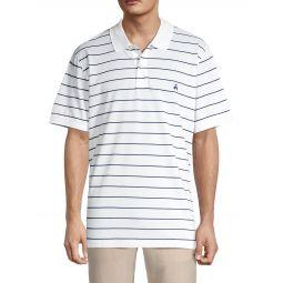 Slim-Fit Striped Pima Cotton Polo