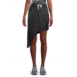Asymmetric Pull-On Skirt