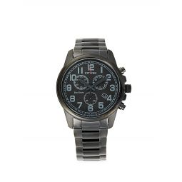 Stainless Steel Chronograph Bracelet Watch